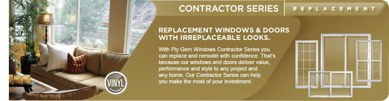 Contractor Replacement Windows