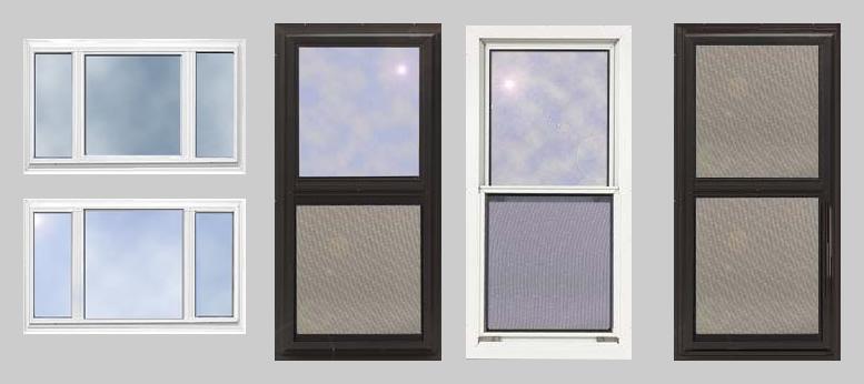 aluminium storm windows